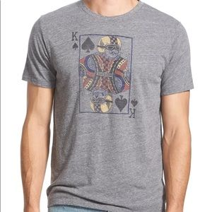 Lucky Brand | Moto King of Spades Graphic Shirt